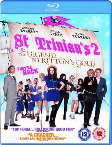 Одноклассницы 2 / St Trinian's 2: The Legend of Fritton's Gold (2009/BDRip) | 720p